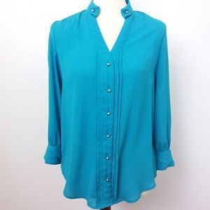 Anthropologie Moulinette Soeurs Button Up Blouse